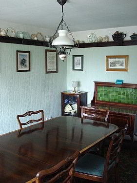 Edwardian guest dining room