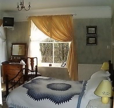 All room have good views of the countryside