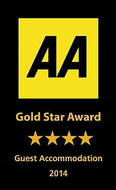 AA 4 Gold Star Highly Commended
