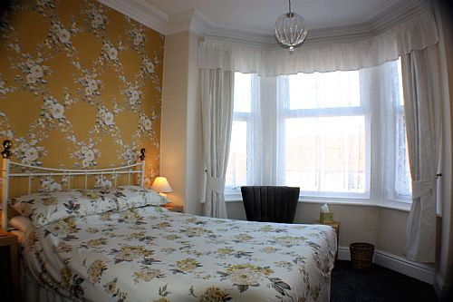 One of our comfy double en-suite bedrooms.