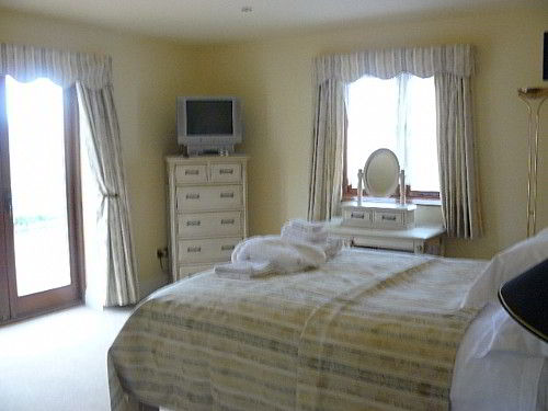 This is the double room, wish Ashly style furniture and the most comfortable bed in the building