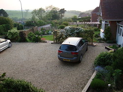 Our private drive provides plenty of off road parking