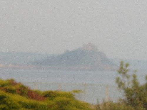 View of St Michaels Mount & Mounts Bay from Bay Lodge