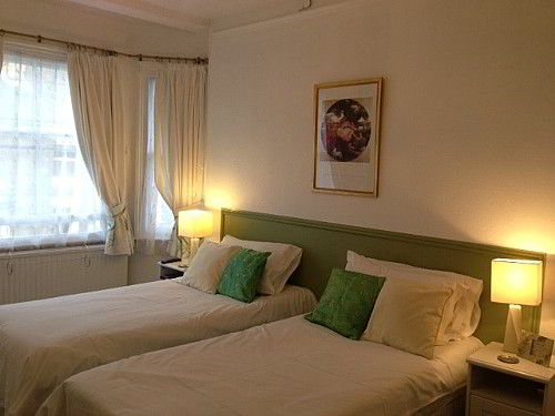 comfortable and spacious en suite twin room.