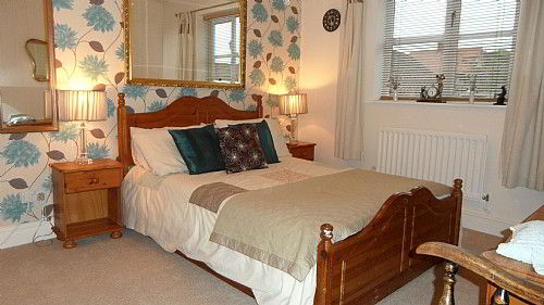 Designer decorated luxury double room