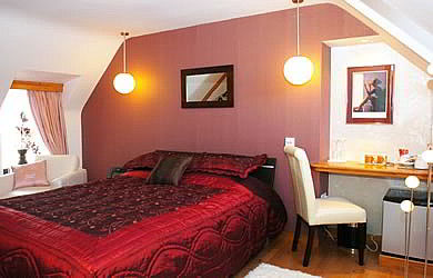 The Red  room offering the very best of accommodation with many complimentary luxuries