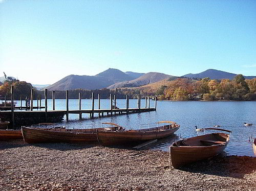 Derwentwater and Catbells ...close to Honister House