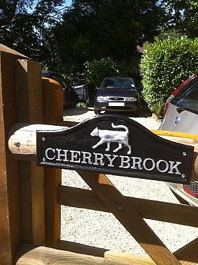Entrance Gate to Cherrybrook House