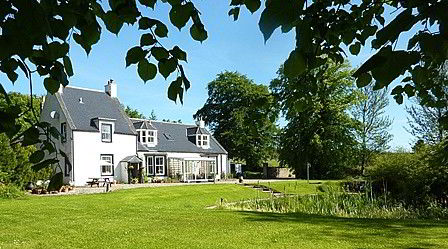 Bed And Breakfast West Manse Rural Near Cullen Banffshire