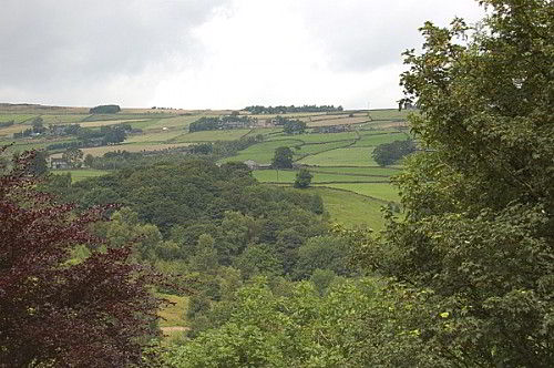 View down the Calder Valley