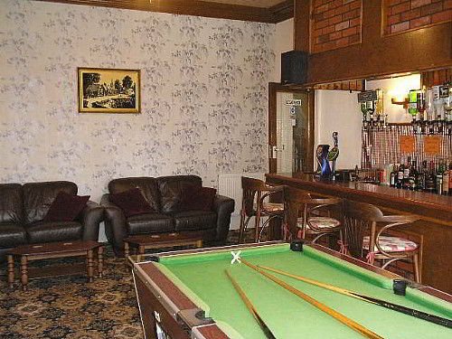 Relax in our comfortable bar lounge where you can have a game of pool, have a chat, or watch TV.