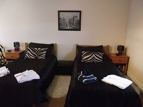 The Twin Bedroom at Cnoc Beag